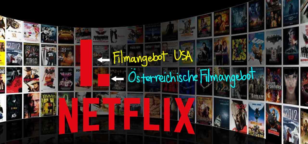 Netflix USA in Osterreich Streamen