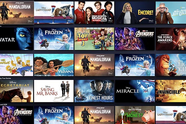 disney plus shows