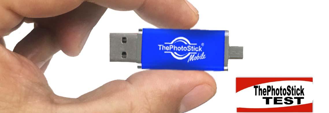 Photostick mobile Dateien sicher & einfach sichern