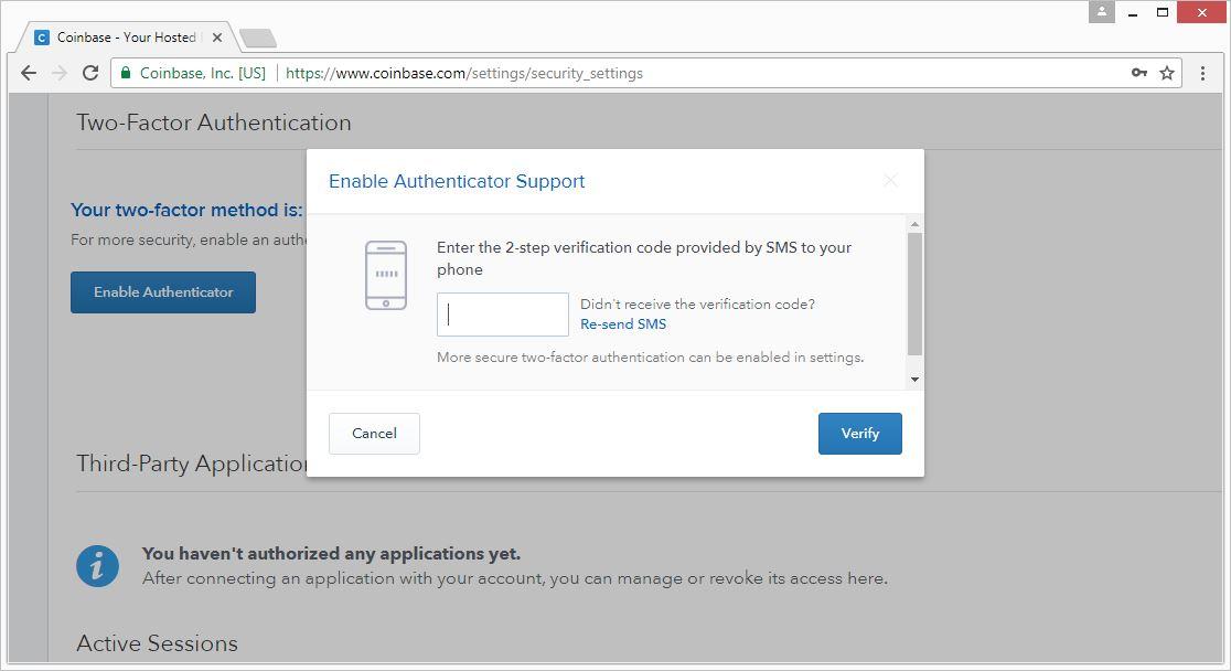 Google 2 factor authentication